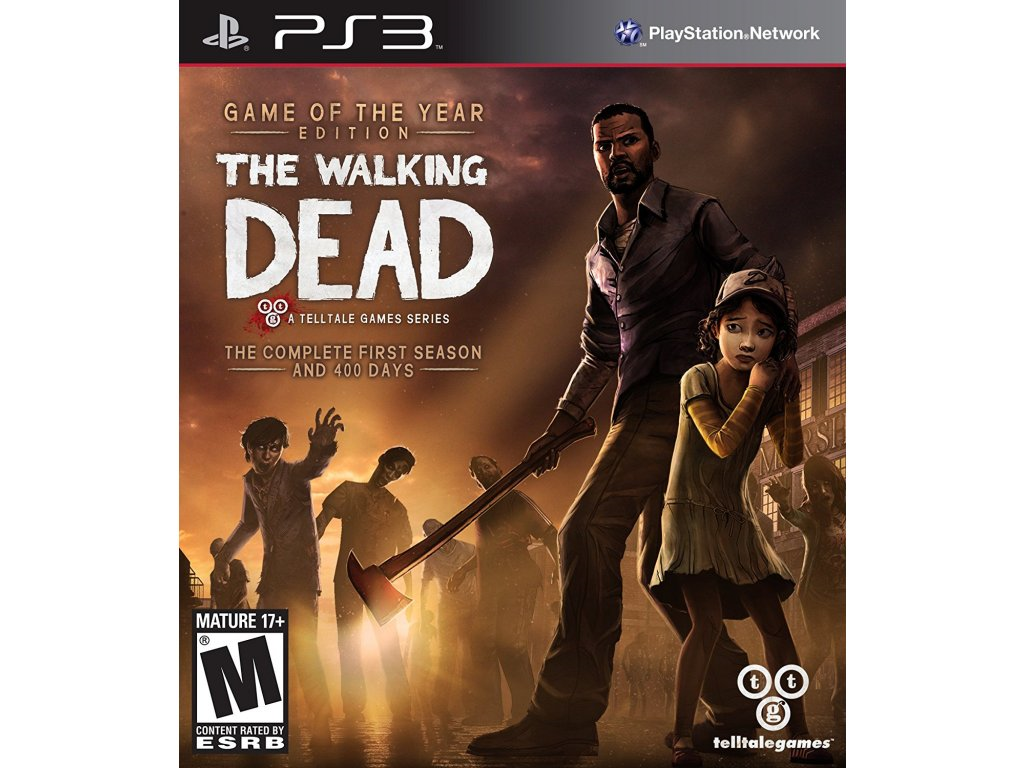 PS3 The Walking Dead Game of the Year Edition