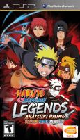 PSP Naruto Legends Akatsuki Rising