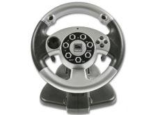 [PS2 | PC] Volant Speedlink SL-6682 - čiernostrieborný
