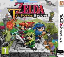 Nintendo 3DS The Legend Of Zelda: Tri Force Heroes (nová)