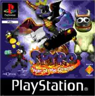PSX PS1 Spyro Year of the Dragon