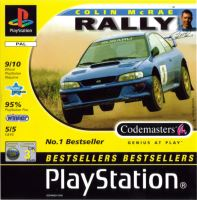 PSX PS1 Colin McRae Rally