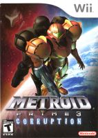 Nintendo Wii Metroid Prime 3 Corruption