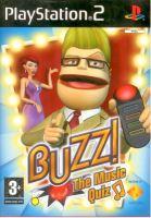 PS2 Buzz! - Hudobné Kvíz (Hra + Drôtové Ovládače)