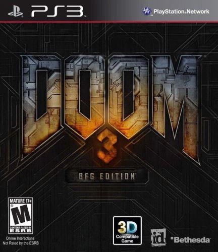 PS3 Doom 3 - BFG Edition (DE)