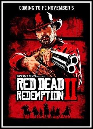 Plagát Red Dead Redemption 2 - Arthur (e) (nový)