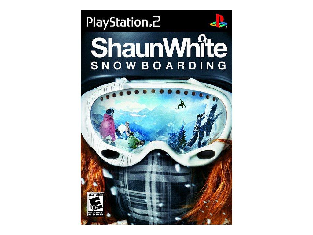 PS2 Shaun White Snowboarding