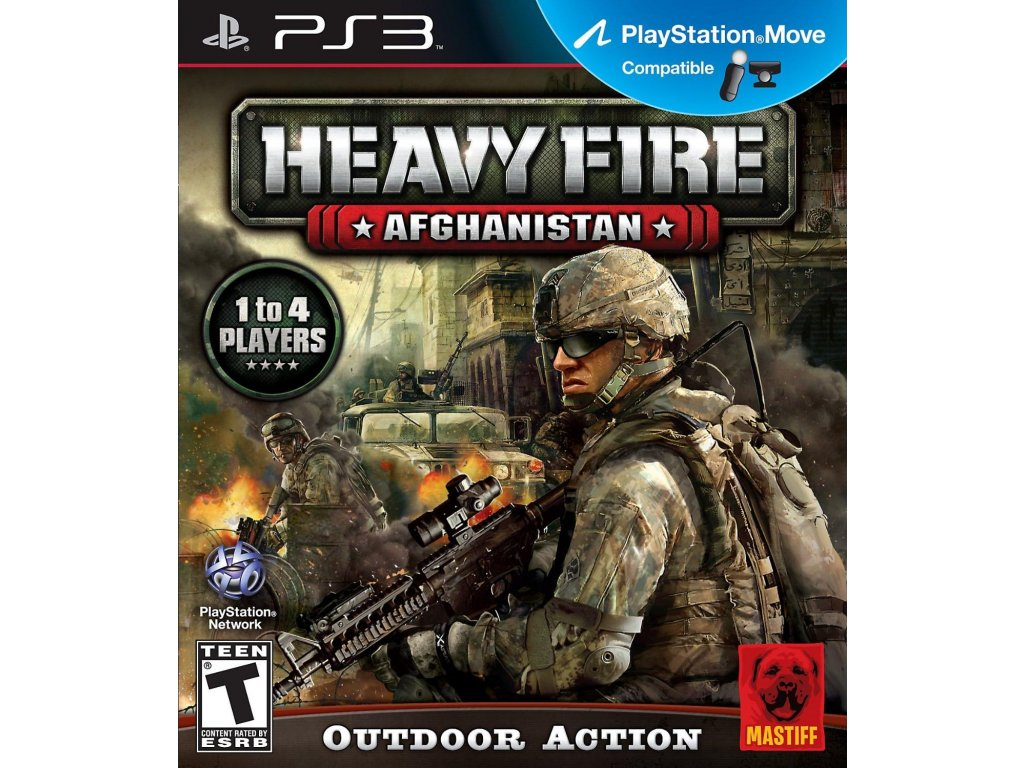 PS3 Heavy Fire Afghanistan