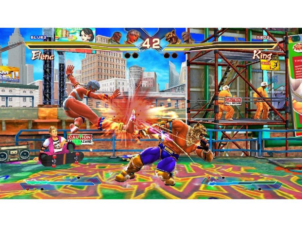 Xbox 360 Street Fighter X Tekken