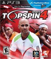 PS3 Top Spin 4 (nová)