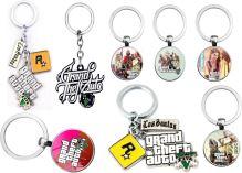 Prívesok na kľúče GTA 5 Grand Theft Auto V - rôzne druhy (nové)