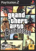 PS2 GTA San Andreas Grand Theft Auto (18+, necenzurované)