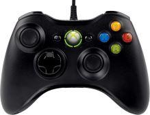 [Xbox 360] Drôtový Ovládač Microsoft - čierny