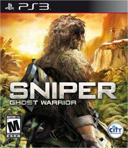 PS3 Sniper Ghost Warrior