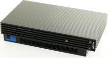 PlayStation 2 Fat - čierny karbón (estetická vada)