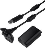 [Xbox 360] USB napájací kábel + akumulátor k ovládaču