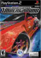 PS2 NFS Need For Speed Underground