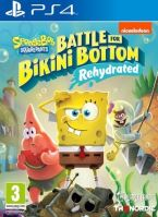 PS4 Spongebob SquarePants Battle for Bikini Bottom Rehydrated