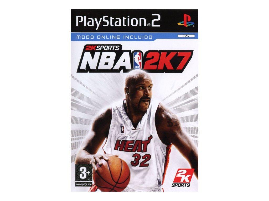 PS2 NBA 2K7 2007