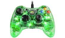 [Xbox 360] Drôtový Ovládač Afterglow - priehľadný