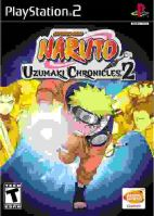 PS2 Naruto Uzumaki Chronicles 2
