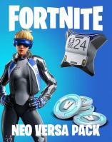 Voucher Xbox One Fortnite + Eon Cosmetic Set, 2000 V-Bucks