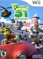 Nintendo Wii Planet 51 The Game