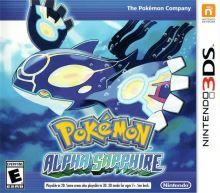 Nintendo 3DS Pokémon Alpha Sapphire