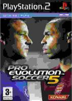 PS2 PES 5 Pro Evolution Soccer 5