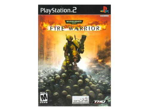 PS2 Warhammer 40,000 Fire Warrior