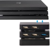 [PS4] DOBE USB HUB 2.0 a 3.0 pre PS4 PRO (nový)
