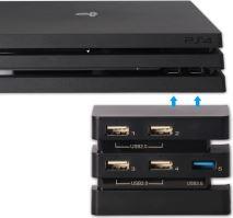 [PS4] DOBE USB HUB 2.0 a 3.0 pro PS4 PRO (nový)