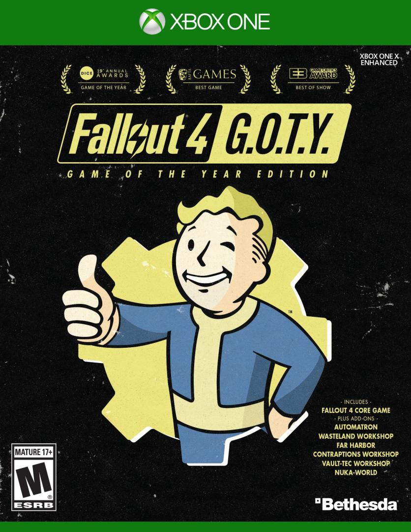 Xbox One Fallout 4: GOTY (Edícia Hra roku)