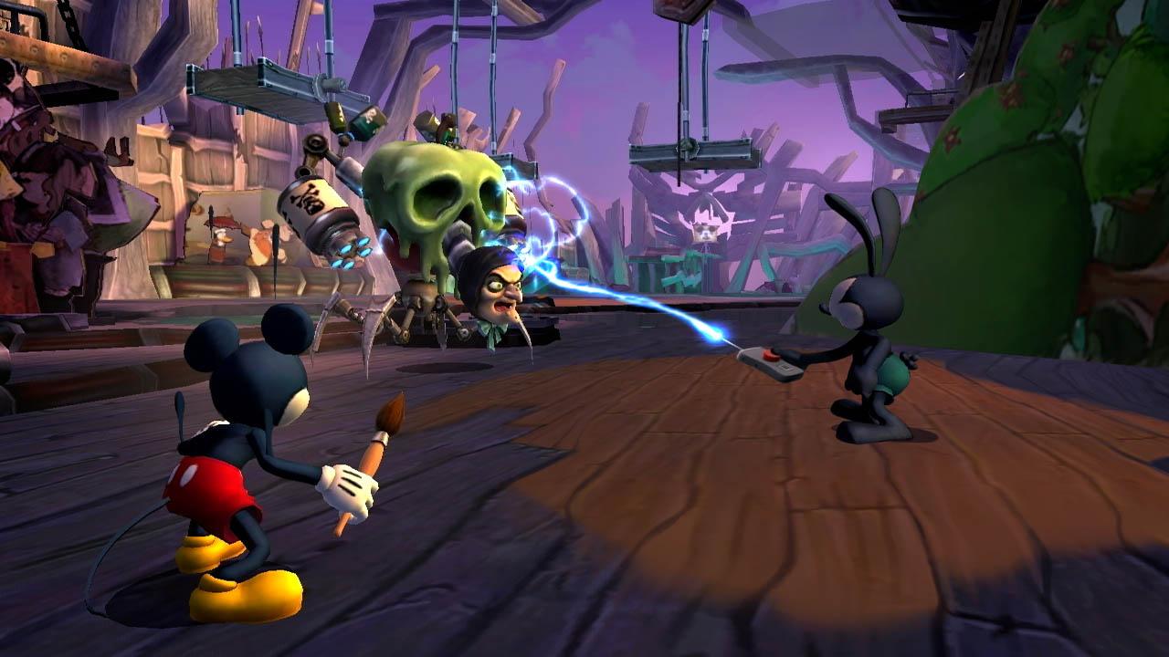 PS3 Epic Mickey 2 Dvojitý Zásah