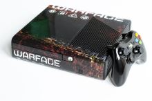 Xbox 360 E Stingray 250GB Warface (estetická vada)