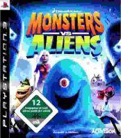 PS3 Monsters Vs Aliens
