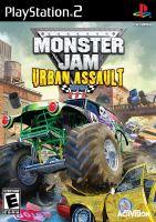 PS2 Monster Jam: Urban Assault