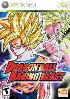 Xbox 360 Dragon Ball Raging Blast (bez obalu)