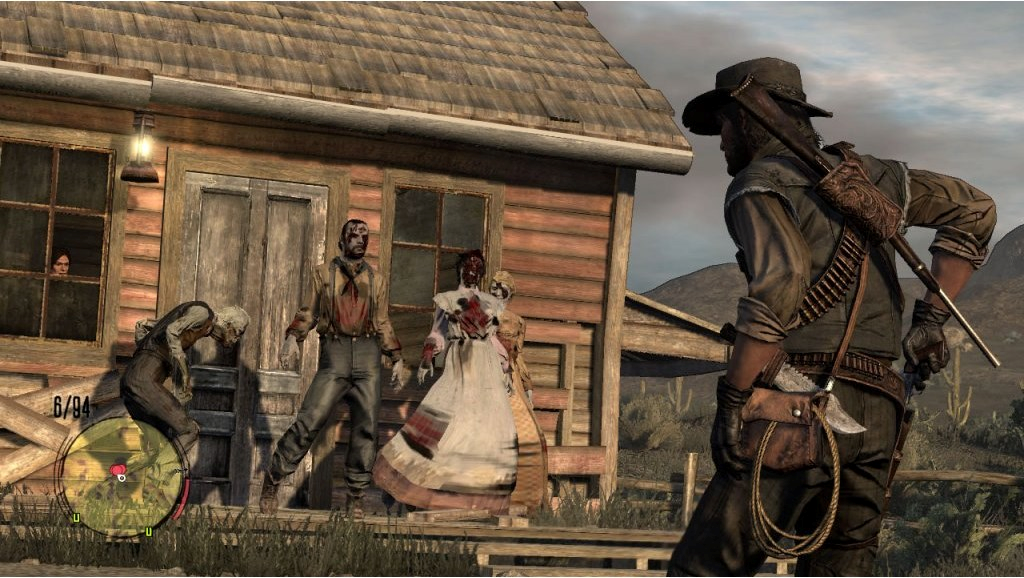 Xbox 360 Red Dead Redemption Undead Nightmare