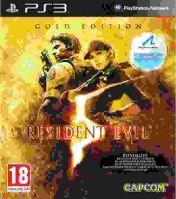 PS3 Resident Evil 5 (GOLD edícia)