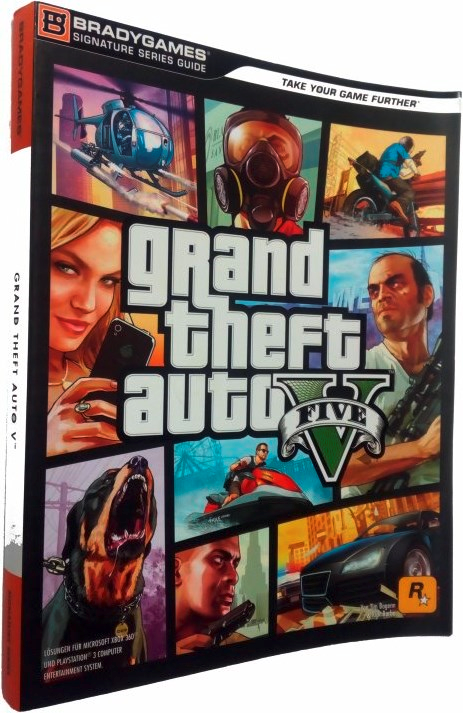 Game Book - GTA V Grand Theft Auto 5 (DE)
