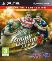 PS3 Rugby League 2 Live GOTY (Edícia Hra roku) (Nová)