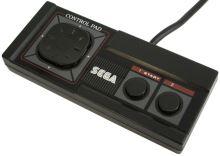 [Sega Master System II] Drôtový Ovládač Sega Master System Control Pad (estetická vada)