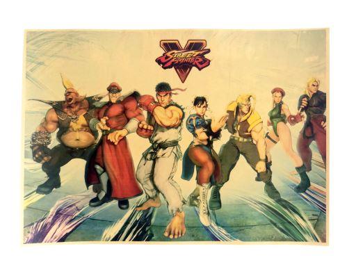 Plagát Street Fighter V (f) (nový)