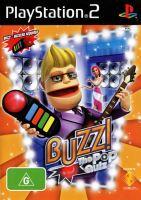 PS2 Buzz! - Pop Kvíz (hra + drôtové ovládača)