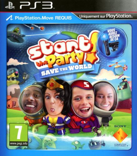 PS3 Start The Party Save The World