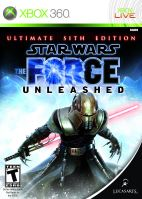 Xbox 360 Star Wars The Force Unleashed Ultimate Sith Edition