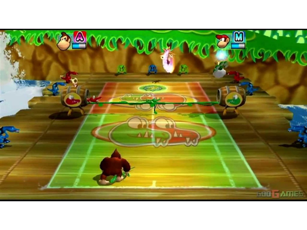 Nintendo Wii Mario Power Tennis