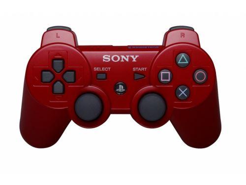 [PS3] Bezdrôtový Ovládač Sony Dualshock - červený