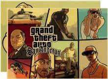 Plagát Grand Theft Auto San Andreas - rôzne motívy (nový)